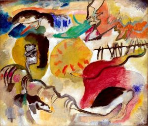 800px-Wassily_Kandinsky,_Improvisation_27,_Garden_of_Love_II,_1912._Exhibited_at_the_1913_Armory_Show