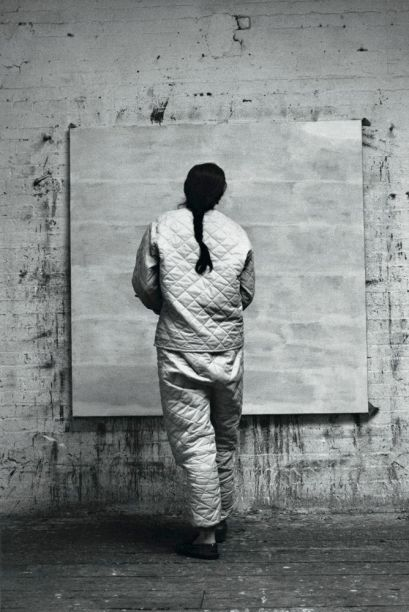 Agnes Martin At The Solomon R Guggenheim Museum New York Ny